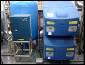 blue commercial boilers